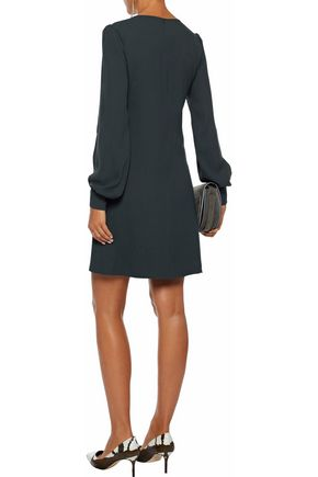 GOAT Eliana crepe mini dress