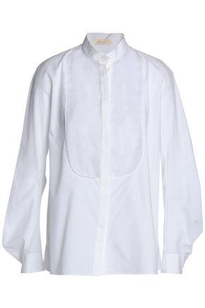 DELPOZO Cotton-poplin top