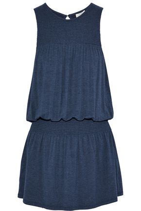 SOFT JOIE Ashira gathered stretch-jersey mini dress