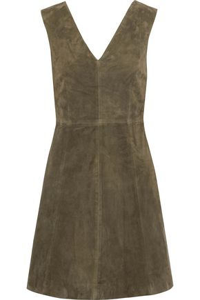 MUUBAA Handley suede mini dress