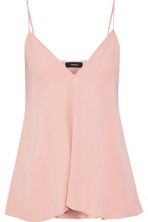 THEORY Kensington satin-crepe camisole
