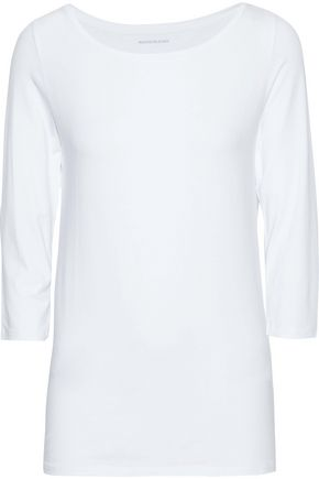 MAJESTIC FILATURES Stretch-jersey top