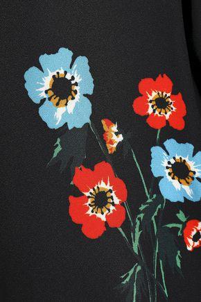 SONIA RYKIEL Floral-print crepe top