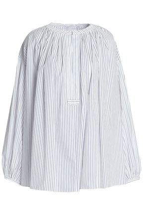 SONIA RYKIEL Striped cotton-poplin tunic