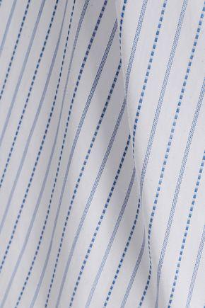 ADAM LIPPES Striped cotton shirt
