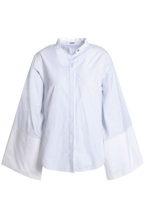 ADAM LIPPES Striped cotton shirt