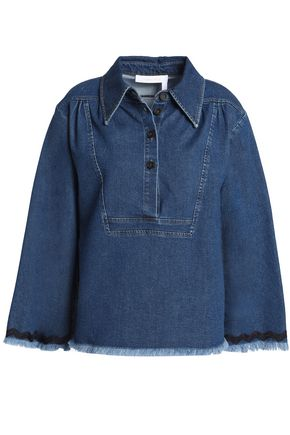 SEE BY CHLOÉ Frayed denim shirt