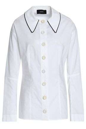 JOSEPH Cotton-poplin shirt