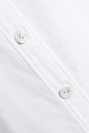 JOSEPH Cotton-poplin shirt dress