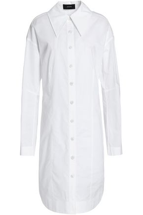 JOSEPH Cotton-poplin shirt dress