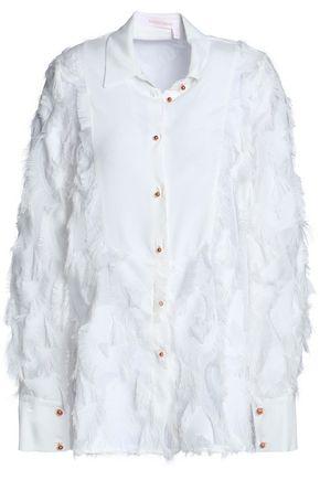 SEE BY CHLOÉ Fil coupé crepe shirt