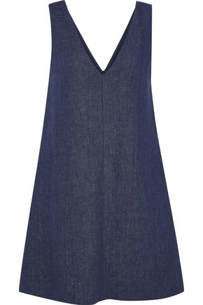 THEORY Linen mini dress