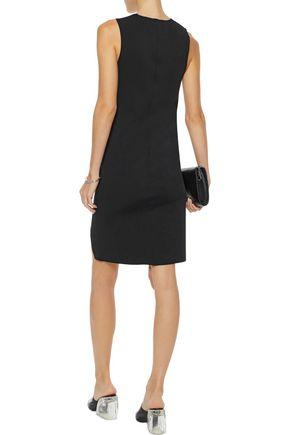 HELMUT LANG Asymmetric neoprene dress