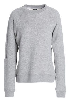 JOSEPH Mélange French cotton-terry sweatshirt