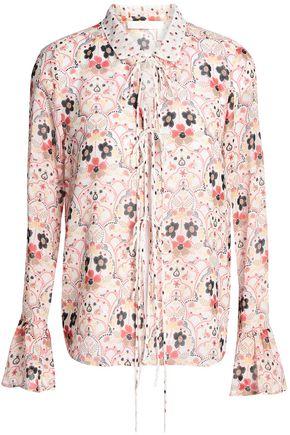 SEE BY CHLOÉ Printed georgette blouse