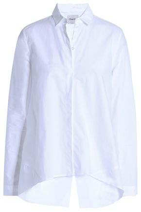 CHARLI Cotton-poplin shirt