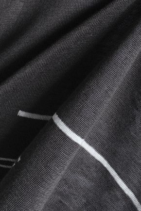 CHARLI Striped linen sweater