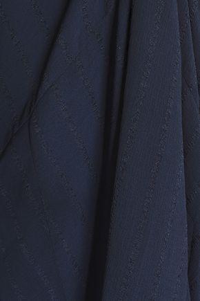 CHARLI Carenna chiffon-jacquard maxi dress