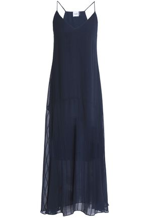 CHARLI Carenna chiffon-jacquard maxi dress