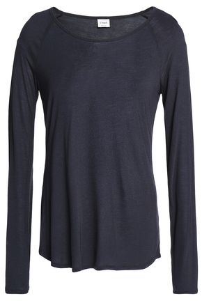 CHARLI Maddie slub modal-jersey top
