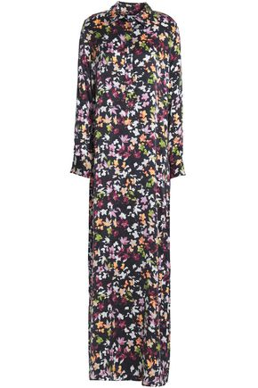 EQUIPMENT Printed washed-silk maxi dress