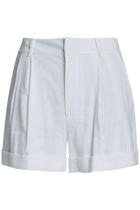 ALICE + OLIVIA Linen-blend shorts