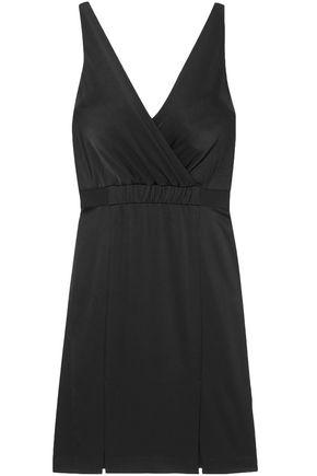 RACHEL ZOE Norah wrap-effect satin dress