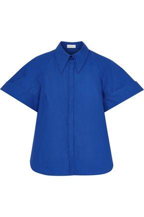 DELPOZO Cotton-poplin shirt