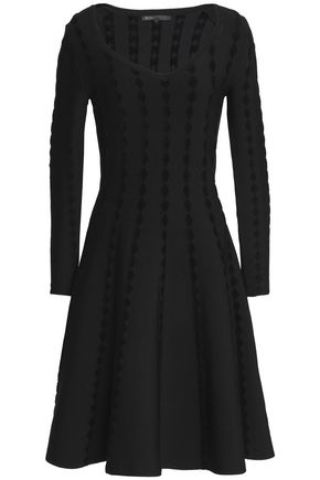 MAJE Stretch-knit mini dress