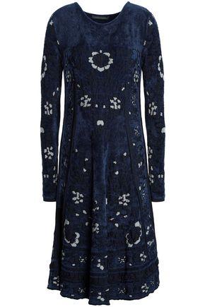 ALBERTA FERRETTI Jacquard-knit dress