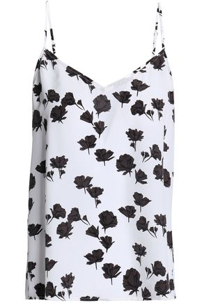 EQUIPMENT Layla floral-print silk crepe de chine camisole