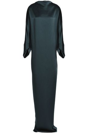 CHALAYAN Satin-crepe gown