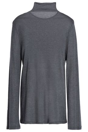 IRO Jersey turtleneck top