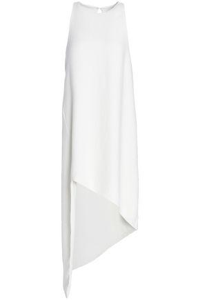 IRO Asymmetric crepe mini dress