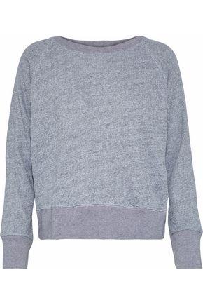 MONROW Mélange French terry sweatshirt