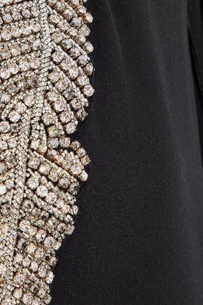 EMILIO PUCCI Crystal-embellished silk crepe de chine kaftan