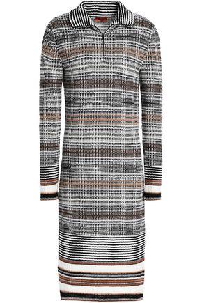MISSONI Wool-blend jacquard dress