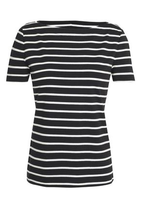 KATE SPADE New York Broome Street striped cotton-jersey T-shirt
