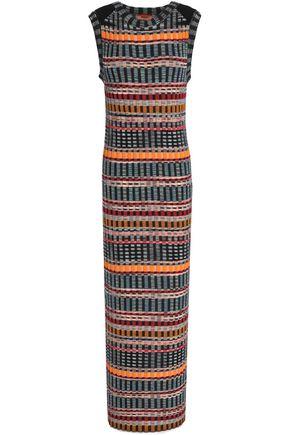 MISSONI Ribbed-knit wool-blend maxi dress