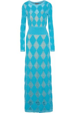 MISSONI Open-knit maxi dress