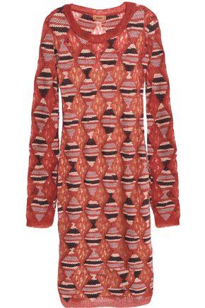 MISSONI Crochet-knit dress