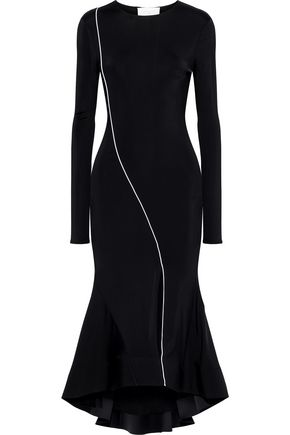 ESTEBAN CORTAZAR Surf stretch-jersey midi dress