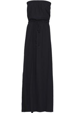 GOEN.J Strapless crepe maxi dress