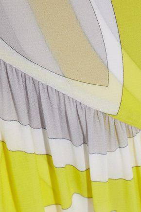 EMILIO PUCCI Printed stretch-jersey gown