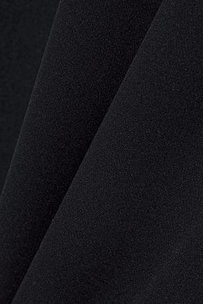 EMILIO PUCCI Georgette-paneled silk crepe de chine top