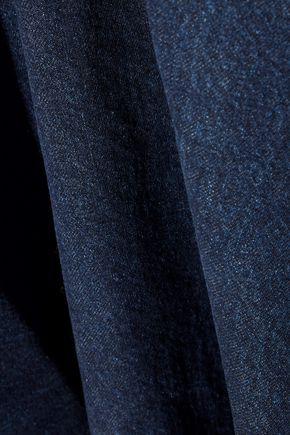 MARQUES' ALMEIDA Asymmetric frayed denim mini dress
