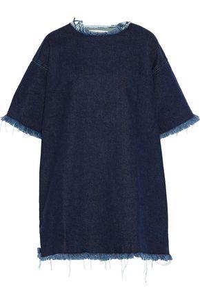 MARQUES' ALMEIDA Frayed denim mini dress