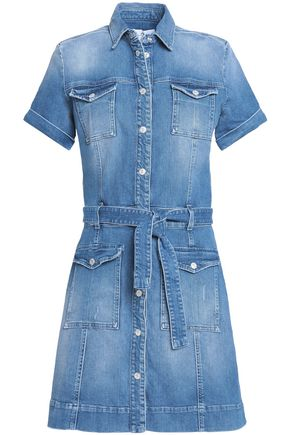 7 FOR ALL MANKIND Day Dream denim mini dress