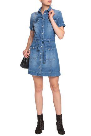 7 FOR ALL MANKIND Day Dream denim mini dress