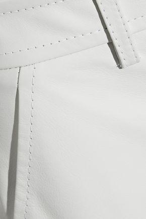 EMILIO PUCCI Leather shorts